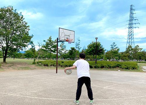 MAXドライビングスクール千曲のリフレッシュスポット バスケットボール