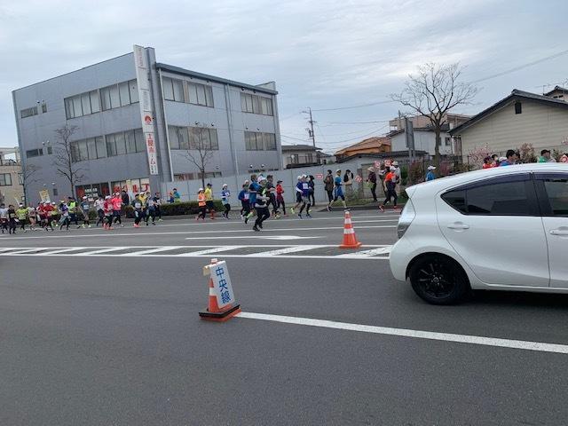 長野マラソン。