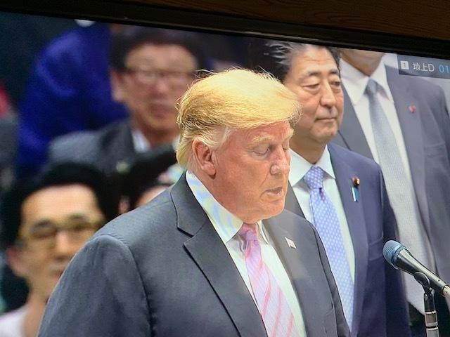 東京都はトランプフィーバー。