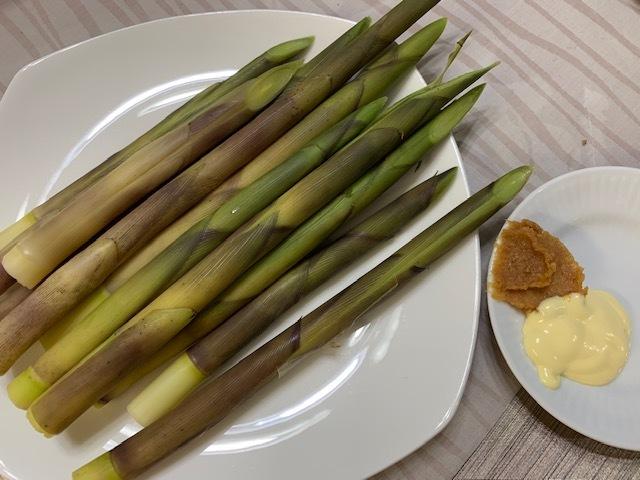 根曲がり竹の食べ方。