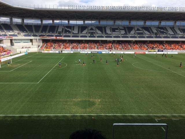 合宿免許の楽しみサッカー見学。