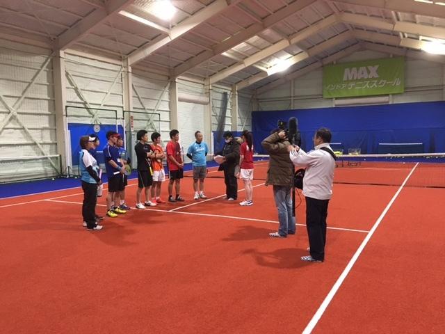 テニスのできる合宿免許はマックス。