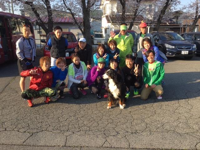 長野マラソンの送迎。
