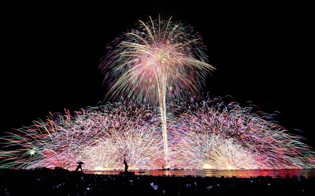 長野の合宿免許の楽しみ、花火。