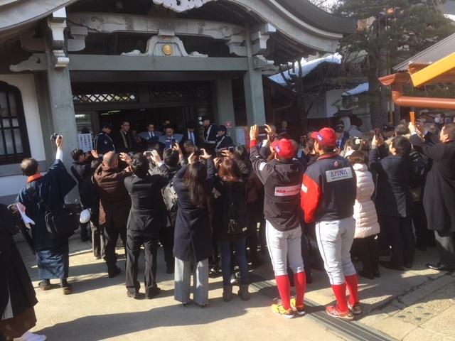 長野市善光寺節分会。