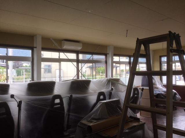 旧教室も模様替え!