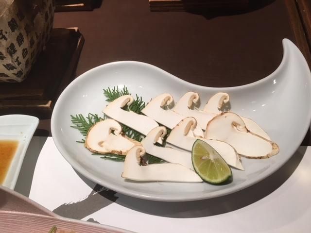 長野はそろそろ松茸の季節。
