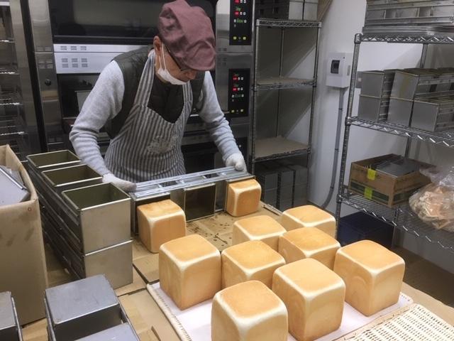 食ぱん道広徳店、初焼き‼︎