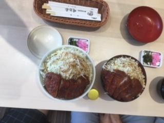 長野駅、明治亭のソースカツ丼、合宿免許の楽しみ。