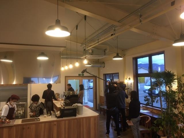 食ぱん道広徳店、SBC取材。