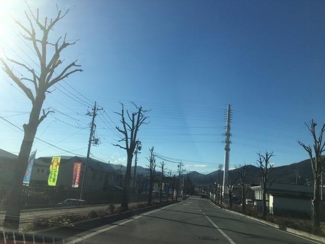 長野市北部の天気。ら