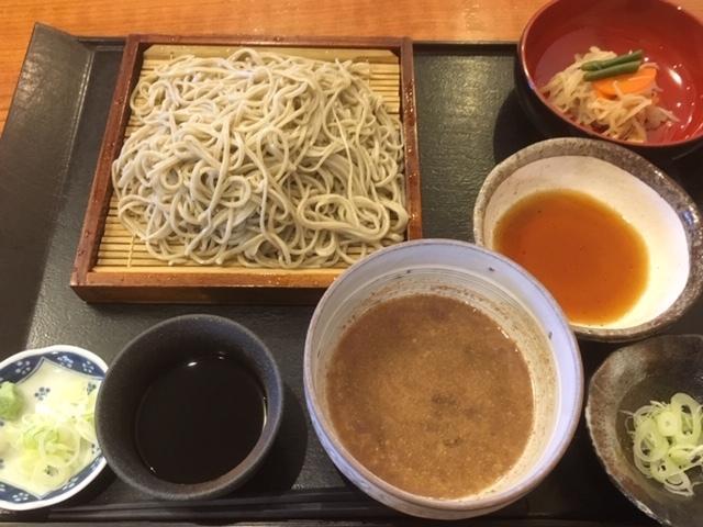 信州は蕎麦が美味しい。
