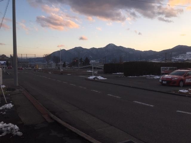 長野の天気。