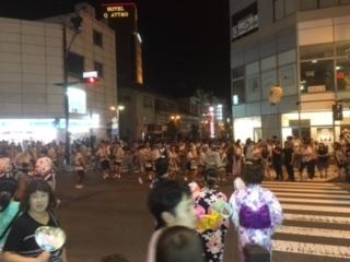 長野市のびんずる祭り。
